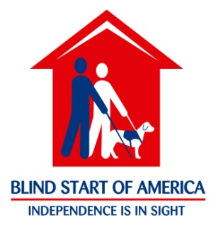 Blind Start of America Logo